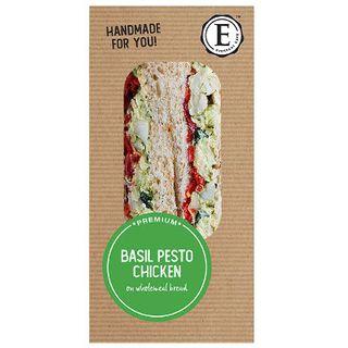 Sandwich Wholemeal Basil Pesto Chicken 12 X 172G