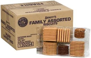 FAMILY ASSORTED BISCUITS 3KG ARNOTTS