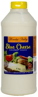 BLUE CHEESE SAUCE SQUEEZE 1LT WOMBAT