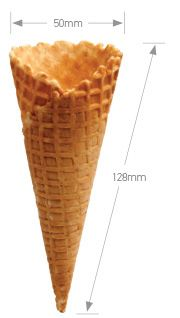 NATURAL TOP WAFFLE CONE A336 ALTIMATE