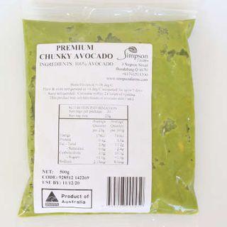 Avocado Premium Chunky Australian 500Gm