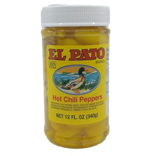 Peppers Yellow Chilli 340G El Pato