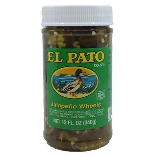 Sauce Jalapeno Wheels 340G El Pato