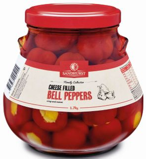 PEPPERS BELL WITH CHEESE 1.7K SANDHURST