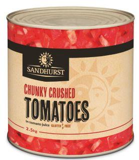 Chunky Crushed Tomatoes 2.5Kg Sandhurst