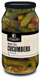 Cucumbers Dill Whole 2Kg Sandhurst
