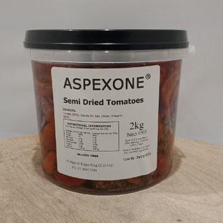 TOMATOES SEMI DRIED 2KG ASPEXONE