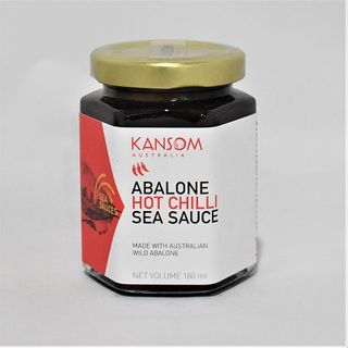 ABALONE HOT CHILLI SEA SCE 180ML KANSOM