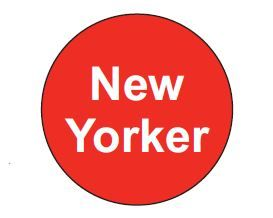 STICKER ROLL X 500 NEW YORKER