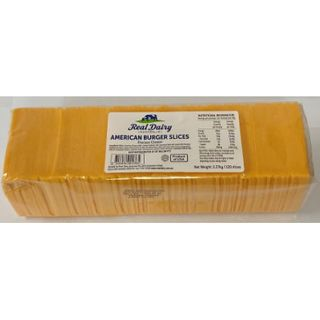 CHEESE AMERICAN SLICED 2.27KG REAL DAIRY