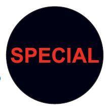 STICKER ROLL X 500 SPECIAL
