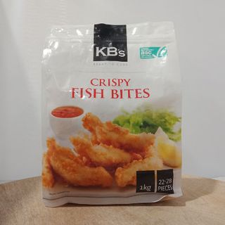 CRISPY FISH BITES 40GM X 1KG KBS