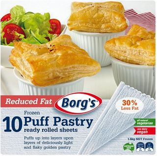 Puff Pastry Sheet Reduced Fat1.6K Borgs