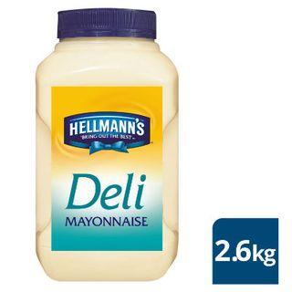 Mayonnaise Deli 2.6Kg Hellmans