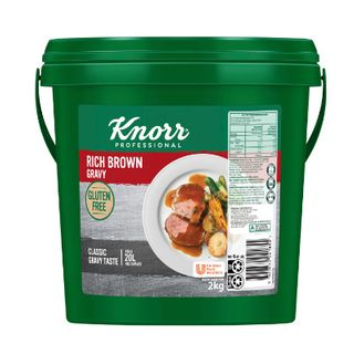 GRAVY RICH BROWN G/F 2KG KNORR