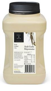 AIOLI GARLIC 2.3KG BIRCH & WAITE