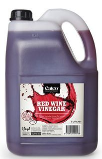 VINEGAR RED WINE 5 LITRE EATEO