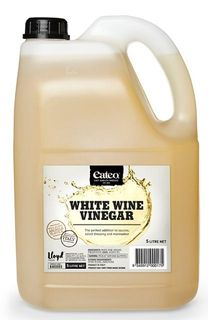 VINEGAR WHITE WINE 5 LITRE EATEO