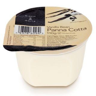 Vanilla Bean Pannacotta 45X110Gm GF Birch & Waite