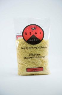 MOZZARELLA SHREDDED CHEESE 2KG REAL