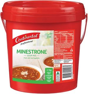 SOUP MINESTRONE 1.9KG CONTINENTIAL