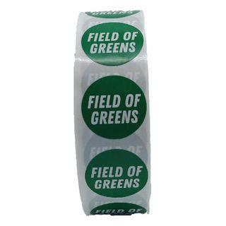 Sticker Roll X 500 Field Of Greens