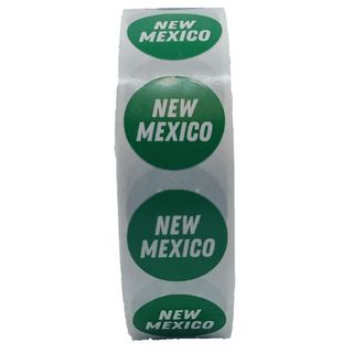 STICKER ROLL X 500 NEW MEXICO