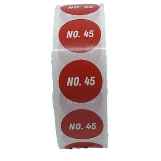 Sticker Roll X 500 No. 45