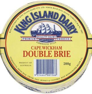 R/W Brie King Island Cape Wickham App 1Kg