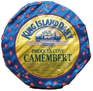 R/W Camembert King Is Phoques Cove Ap1Kg