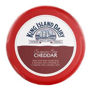 R/W Cheddar King Island Surprise Bay App 2.8Kg