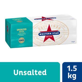 Butter Unsalted 1.5Kg
