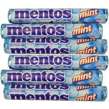 MENTOS PEPPERMINT BLUE ROLL (38GX40)
