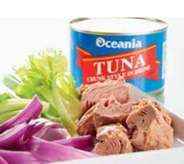 Tuna Chunks In Brine 425G Oceania
