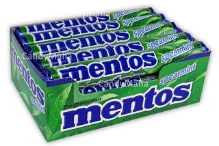 MENTOS SPEARMINT GREEN ROLL (38GX40)