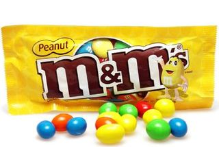 MARS M&MS PEANUT BAG ( 46G X 12 )