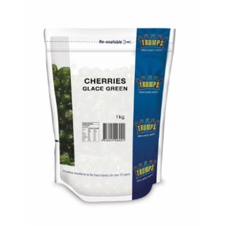 CHERRIES** GLACE GREEN 1KG