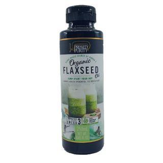 Oil Flaxseed Organic 250Ml Pressed Purity