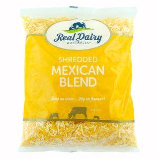 Cheese Shredded Mexican Blend 2Kg GF