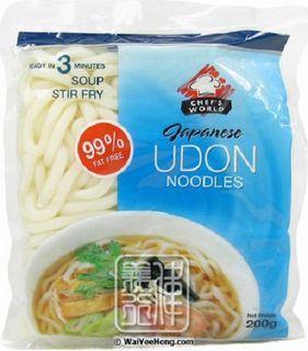 Udon Noodles Japanese 200Gr Chefs Wld