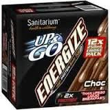 UP & GO ENERGIZE CHOCOLATE 12X250ML