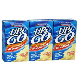 UP & GO BANANA 12X250 ML