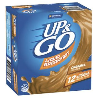 UP & GO CARAMEL 12X250ML