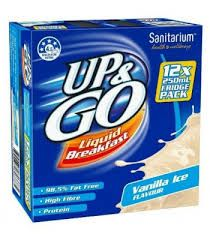 UP & GO VANILLA MILK 12X250ML
