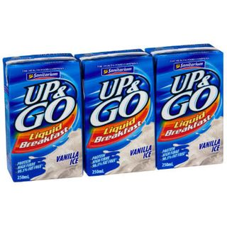 UP & GO VANILLA 24X250ML