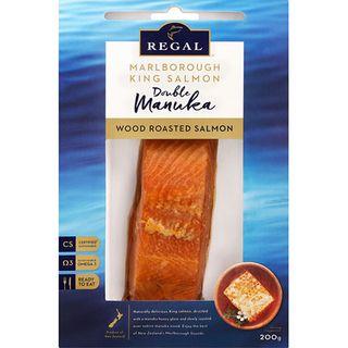 King Salmon Manuka Hot Double Smoked 200Gm