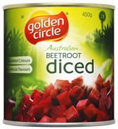 BEETROOT DICED A10 GOLDEN CIRCLE