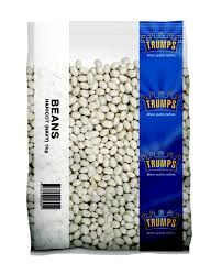 Haricot Beans (Navy) 1Kg Trumps