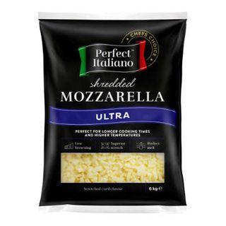Cheese Shredded Mozzarella Ultra 12Kg