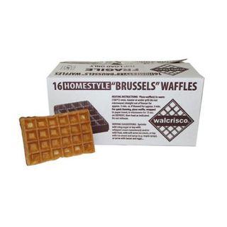 Waffles Brussels 16X75G Ctn Walcrisco